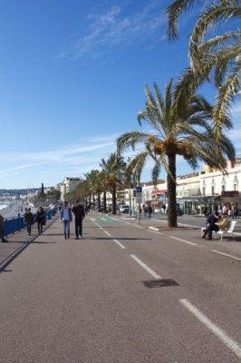 Promenade des Anglais Nice France Nisa poze Franta Vacanta