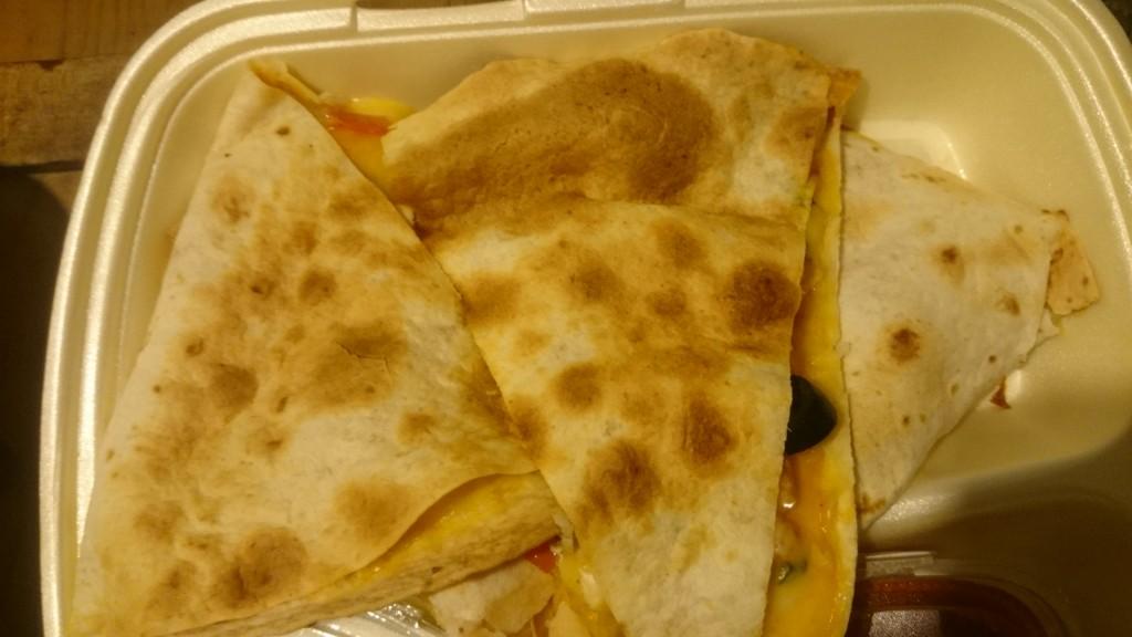 Quesadillas con pollo / quesadillas cu pui